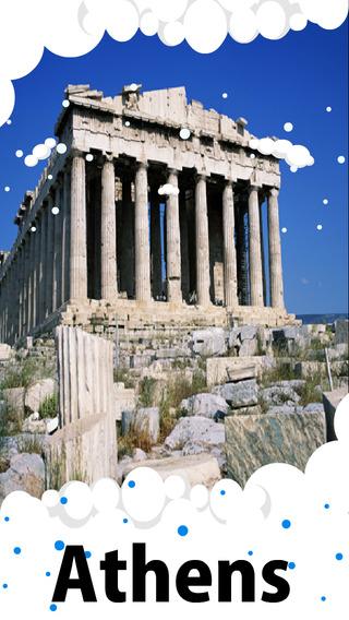 Athens Travel Guide - Offline Maps