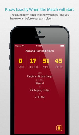 Arizona Football Alarm Pro