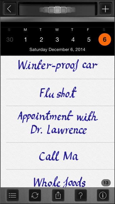 Use Your Handwriting iPhone Screenshot 3