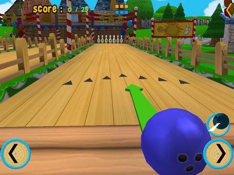 cats bowling for kids vip iPad Screenshot 2