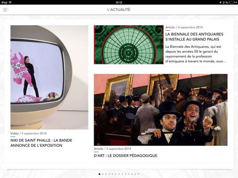 Grand Palais le magazine