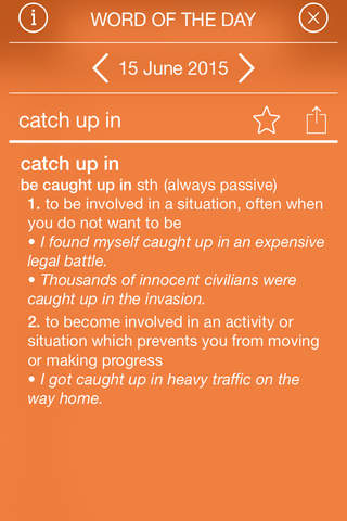 Cambridge Phrasal Verbs Dictionary, 2nd Edition screenshot 4