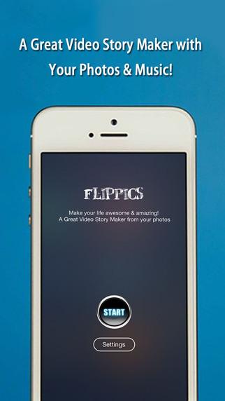 FlipPics - Video SlideShow Maker for Instagram with music
