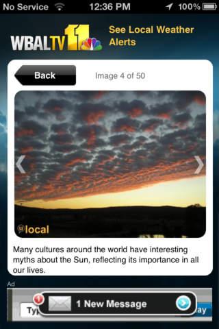 Alarm Clock WBAL-TV 11 Baltimore screenshot 3