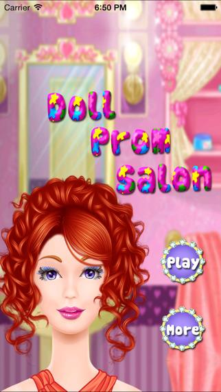 Girl Prom Salon