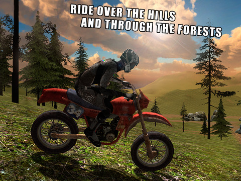 Downhill Bike Simulator 3D: Offroad Race Full Screenshots