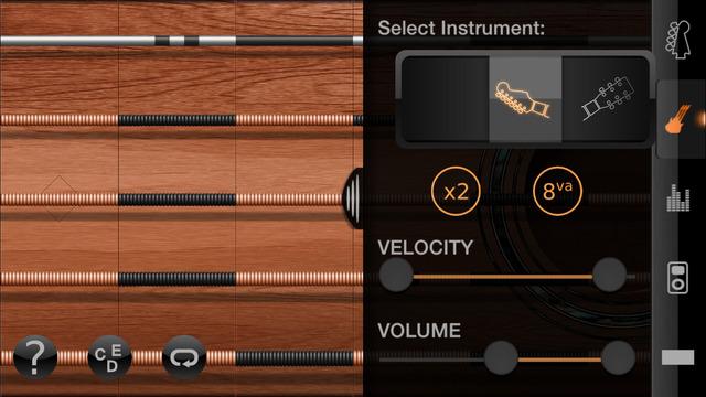 iFretless Guitar Screenshots