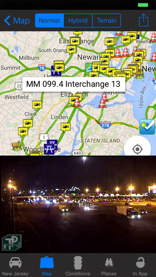 New Jersey Road Conditions and Real Time Traffic C