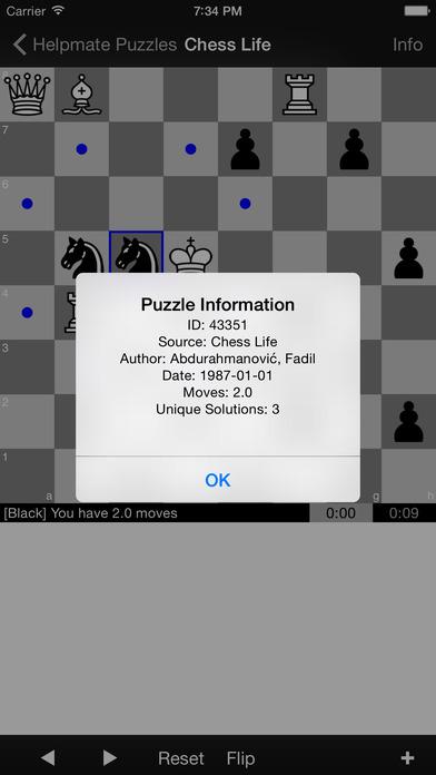Helpmate Puzzles iPhone Screenshot 3
