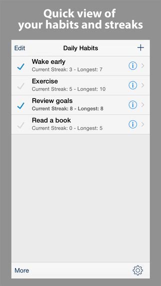 Simple Habits - Daily Habit Tracker