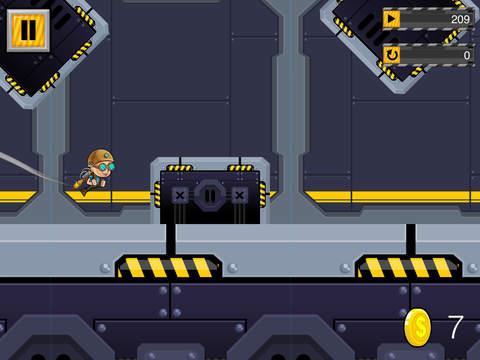 玩免費遊戲APP|下載Super Rocket Boy app不用錢|硬是要APP