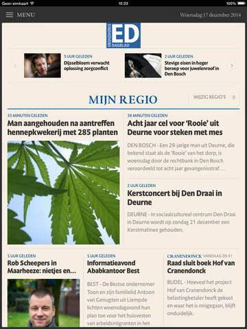 ED nieuws voor iPad