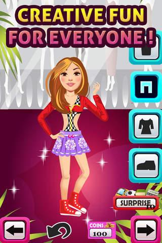 My High School Teen Fashion Icon Dressing Up Game - Advert Free screenshot 4