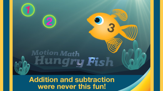 Motion Math: Hungry Fish Pro