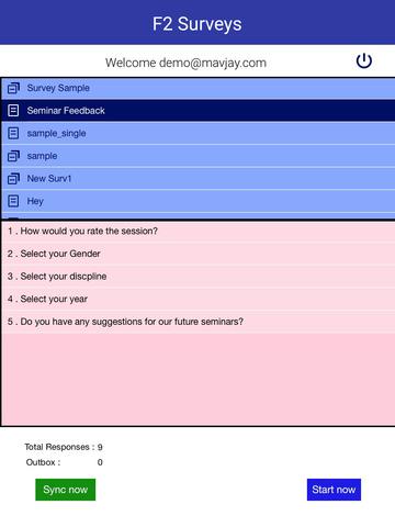 F2 Surveys