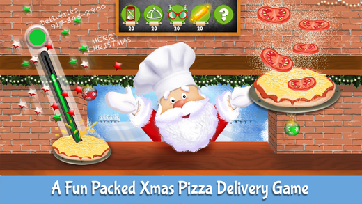 Santa Claus' Secret Pizza Recipe - Elf Yourself As A Pizzeria Chef - Christmas Edition