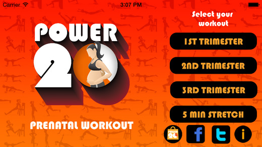 Power 20 Prenatal Workout - Daily Fitness Trainer For Pregnancy
