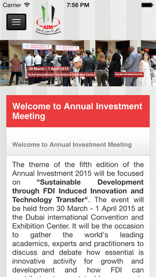 Annual Investment Meeting AIM Congress