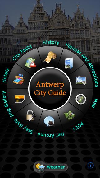 Antwerp Offline Map Travel Guide