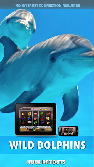 Wild Dolphins Slots - FREE Casino Machine For Test Your Lucky Win Bonus Coins In This Fabulous Machi