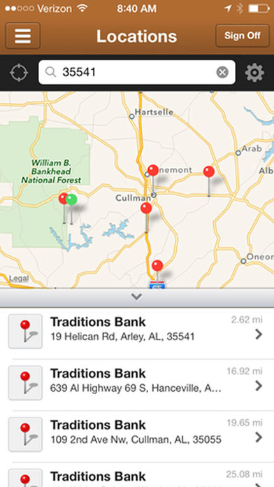 Traditions Bank Mobile Banking iPhone Screenshot 4
