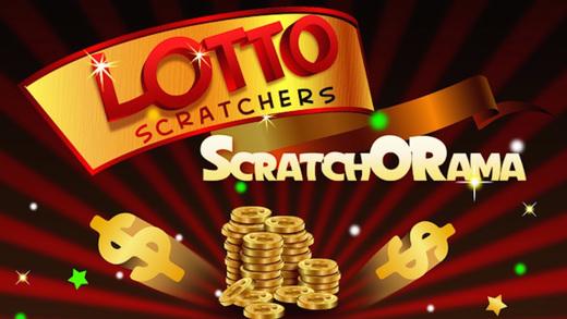 Lotto Scratcher Lottery Big Win
