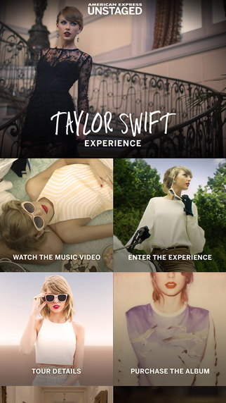 American Express Unstaged: Taylor Swift Experience