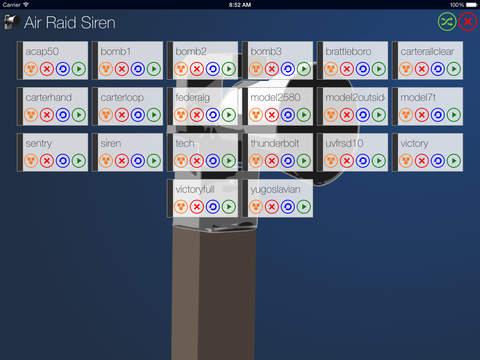 air raid siren app dating