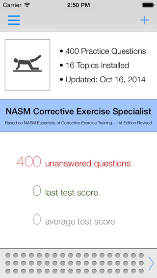 NASM CES Test Questions Answers