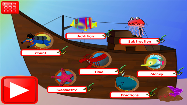 First Grade Math Learning Games