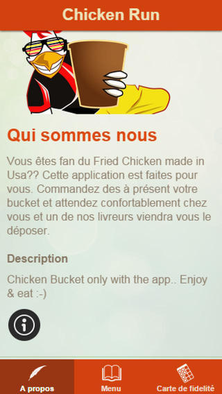Chicken Run App