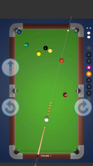 2D Pool Billard