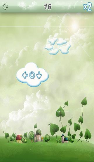 Pop Cloud - Tap and Swipe and Get fun