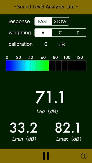 Sound Level Analyzer Lite - Simple dB Meter