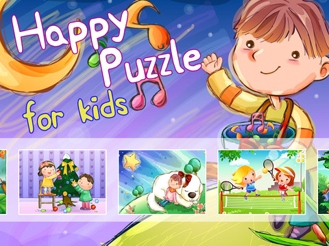 Puzzle Happy Kids for childs
