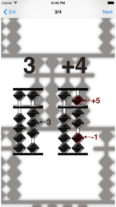 Abacus' brain iPhone Screenshot 5