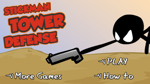 Stickman Defense - Shooting Game
