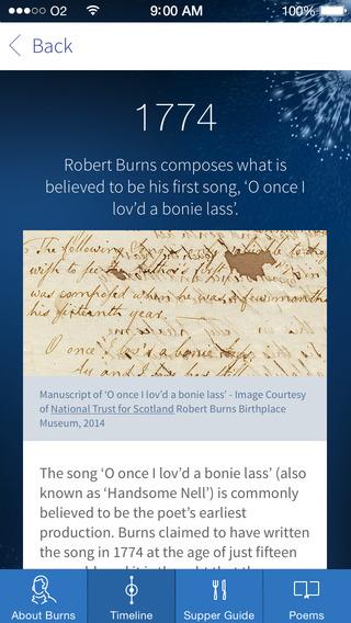 The Works of Robert Burns iPhone Screenshot 5