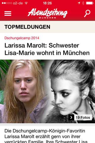 Abendzeitung München screenshot 1