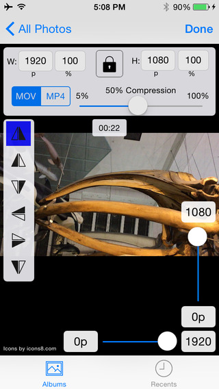 Video Compress Resize Rotate Flip