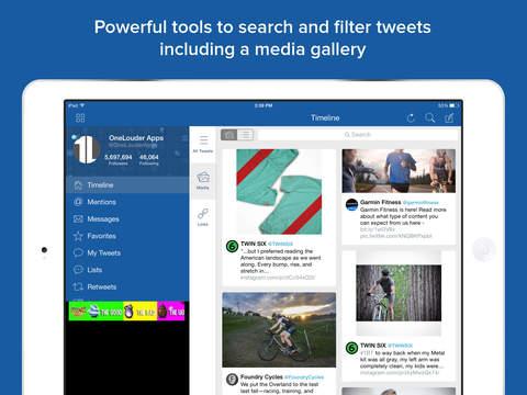 TweetCaster Pro for Twitter Screenshot