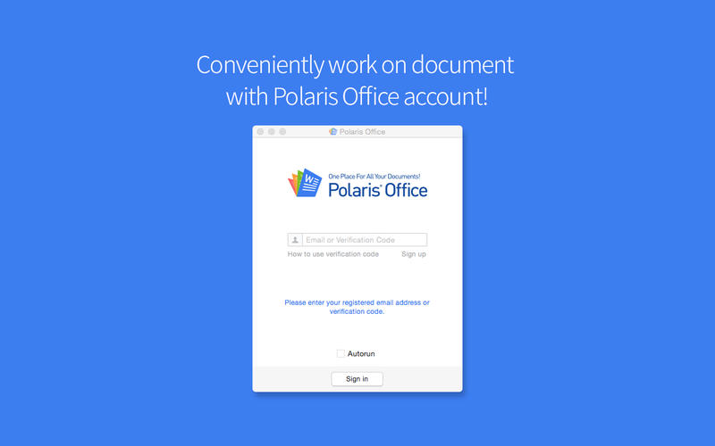 PolarisOfficeSync Screenshot - 2