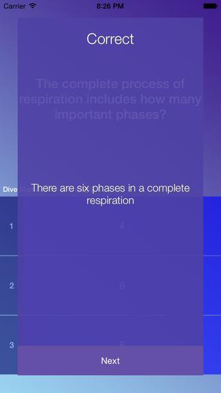 SCUBA SUP Study Questions