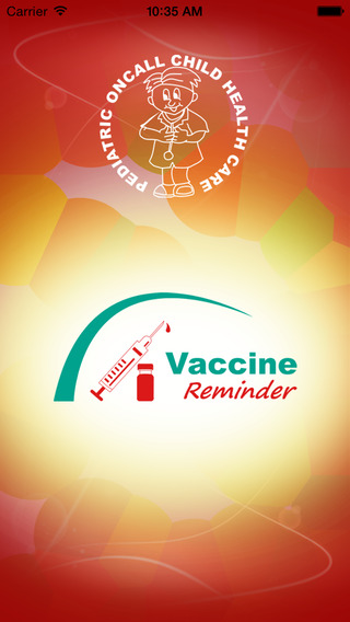 Vaccine Reminder - Pediatric Oncall