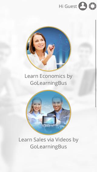 Learn Economics Sales Marketing by GoLearningBus
