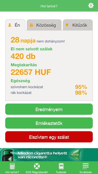 【免費醫療App】Kell a dohány?-APP點子