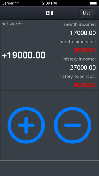 ACATW-Bill Currency Account Exchange Income Expenditure