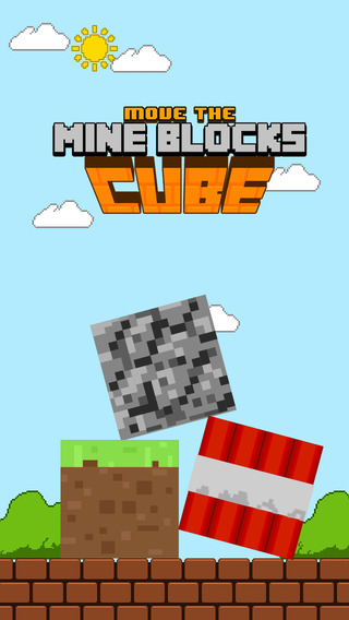 Move the Earth Mine Block Cubes