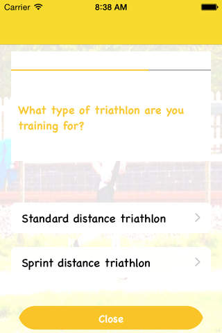Tri-this training plans screenshot 2