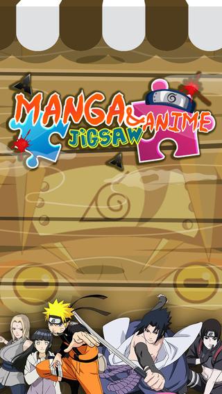 "Jigsaw Manga Anime Hd - "" Japanese Puzzle Ninja Collection For Naruto Shippuden Edition """